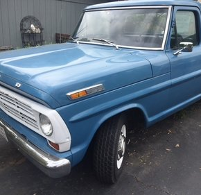 1968 Ford F250 Camper Special for sale 101316315