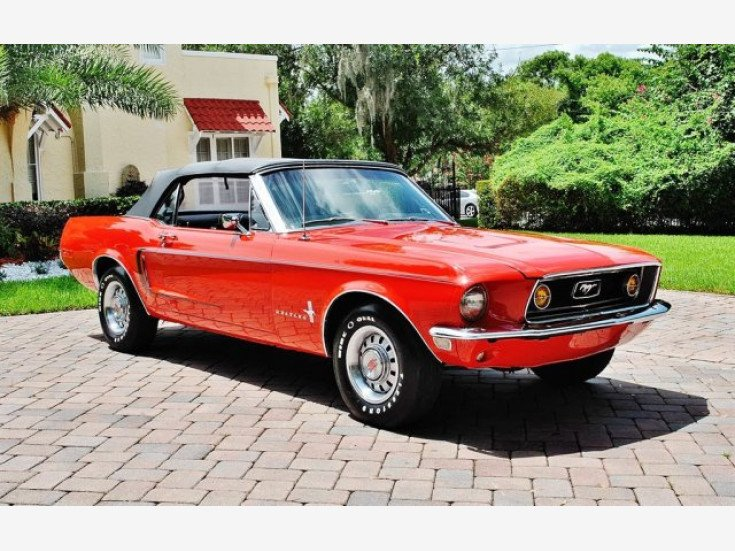 1968 Ford Mustang For Sale Near Lakeland Florida 33801