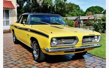 1968 Plymouth Barracuda for sale 101044599