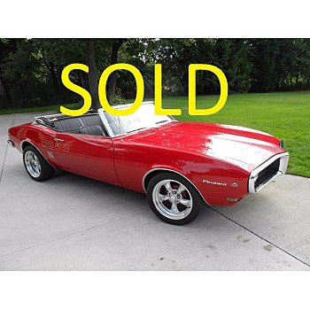 1968 Pontiac Firebird for sale 101317016