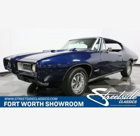 1968 Pontiac GTO for sale 101064679