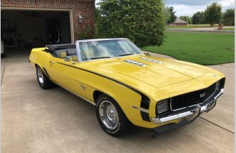 1969 Chevrolet Camaro RS Convertible for sale 101199850