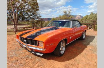 1969 Chevrolet Camaro SS Convertible for sale 101285079