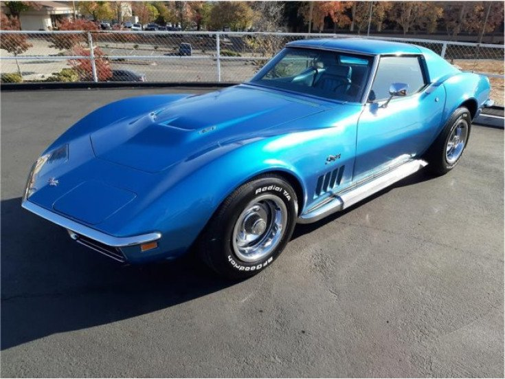 1969 Chevrolet Corvette For Sale Near Rosesville California 95561 Classics On Autotrader