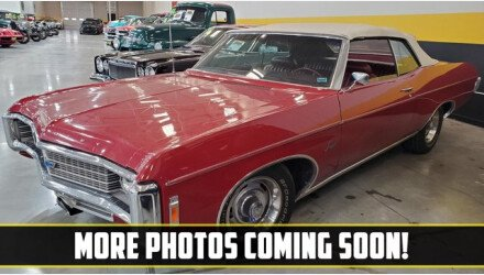 1969 Chevrolet Impala Convertible for sale 101410201