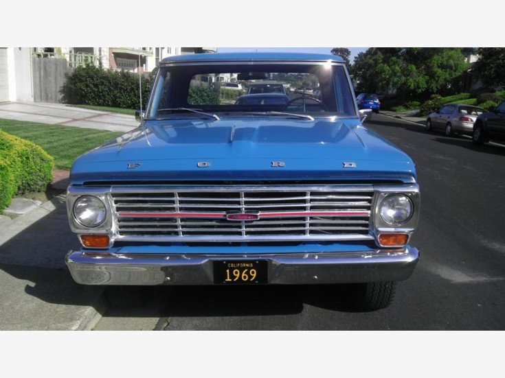 1969 ford f100 360 engine specs