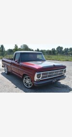 1969 Ford F100 2WD Regular Cab for sale 101034006