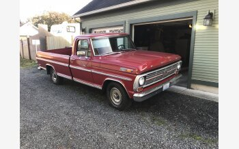 1969 Ford F100 2WD Regular Cab for sale 101128115