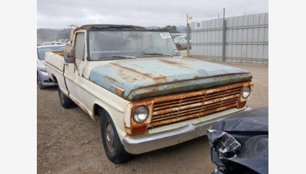 1969 Ford F100 for sale 101267718