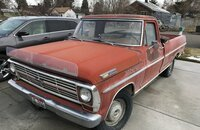 1969 Ford F100 2WD Regular Cab for sale 101334514