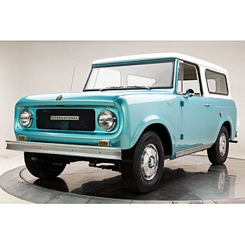 1969 International Harvester Scout for sale 101007058