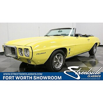 1969 Pontiac Firebird for sale 101151760