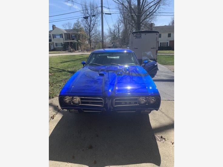 1969 Pontiac GTO for sale 101500213