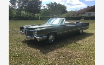 1970 Cadillac De Ville Coupe for sale 101100335