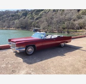 1970 Cadillac De Ville Convertible for sale 101460475