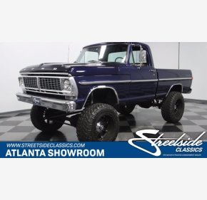 1970 Ford F100 for sale 101337926