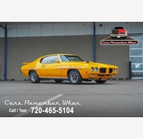 1970 Pontiac GTO for sale 101352638