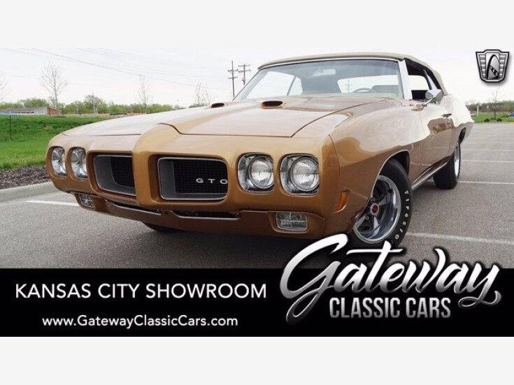 1970 Pontiac GTO for sale 101508184