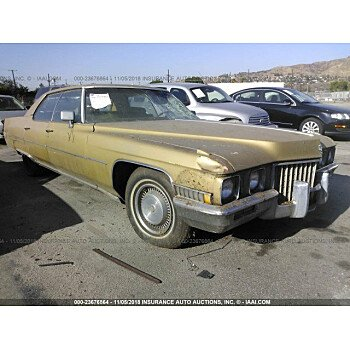 1971 Cadillac De Ville for sale 101179094