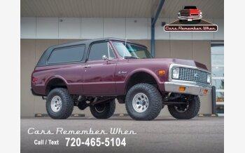 1971 Chevrolet Blazer for sale 101578049