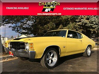 1971 Chevrolet Chevelle for sale 101065886