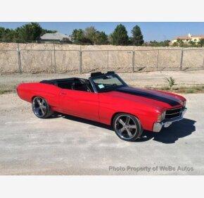 1971 Chevrolet Chevelle for sale 101077248