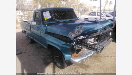 1971 Ford F100 for sale 101111263