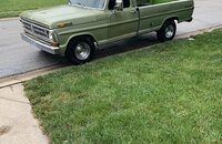 1971 Ford F100 2WD Regular Cab for sale 101201267