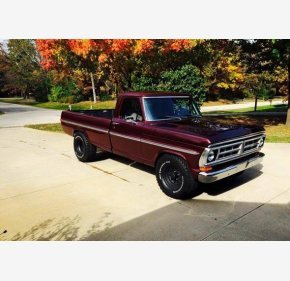 1971 Ford F100 for sale 101245239