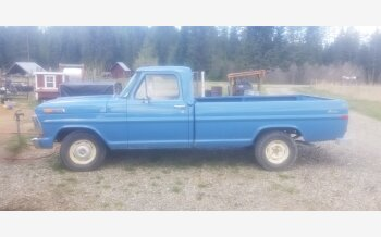 1971 Ford F100 2WD Regular Cab for sale 101505199