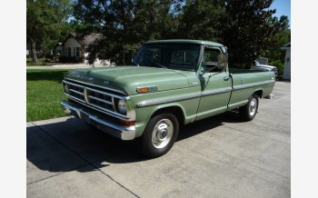 1971 Ford F250 2WD Regular Cab for sale 101068182