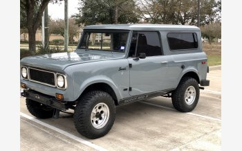 1971 International Harvester Scout for sale 101260347