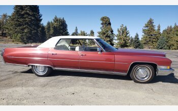 1972 Cadillac De Ville Sedan for sale 101260001