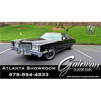 1972 Cadillac Eldorado for sale 101106584