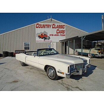 1972 Cadillac Eldorado for sale 101437308