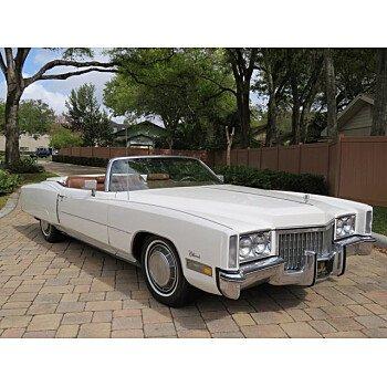 1972 Cadillac Eldorado for sale 101460614