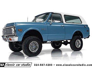 1972 Chevrolet Blazer for sale 101513080
