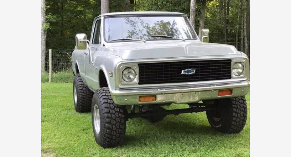 1972 Chevrolet C/K Truck for sale 100922834