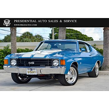1972 Chevrolet Chevelle for sale 101415028