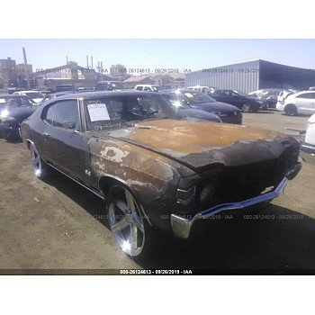 1972 Chevrolet Chevelle for sale 101213905