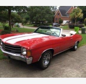 1972 Chevrolet Chevelle Malibu for sale 101345337