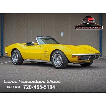 1972 Chevrolet Corvette for sale 101539292