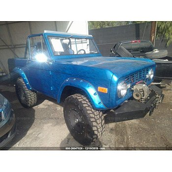 1972 Ford Bronco for sale 101248306