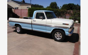 1972 Ford F100 2WD Regular Cab for sale 101282880