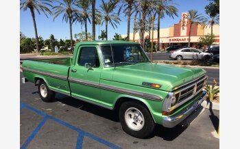 1972 Ford F100 2WD Regular Cab for sale 101346174