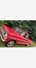 1972 Ford F100 2WD Regular Cab for sale 101357000