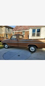 1972 Ford F100 2WD Regular Cab for sale 101426495