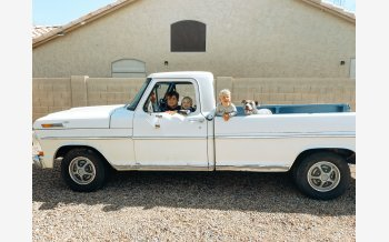 1972 Ford F100 2WD Regular Cab for sale 101456704