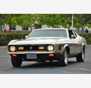 1972 Ford Mustang Mach 1 Coupe for sale 100813299