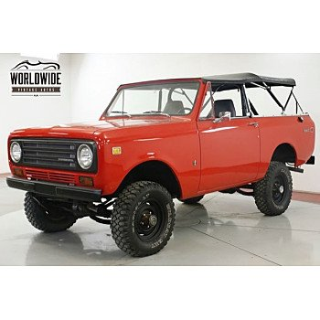 1972 International Harvester Scout for sale 101189448
